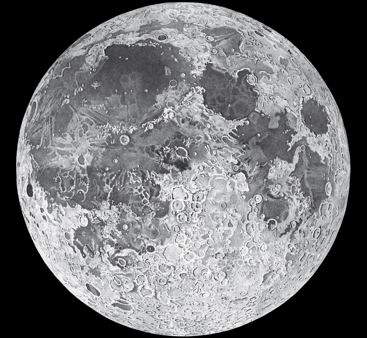 It is an image of Remarkable Drawing The Moon