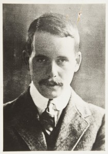 Harry in his prime: posed portrait of Henry Moseley, c.1914