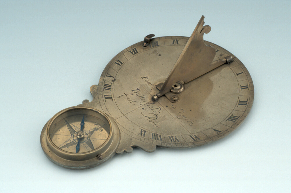 preview image for Horizontal Dial and Nocturnal, by Michael Butterfield, Paris, c. 1700