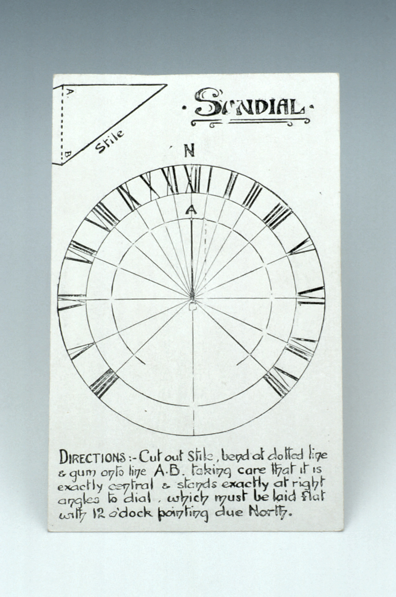 preview image for Horizontal Dial Postcard, by Donald McGill, English, c. 1900?
