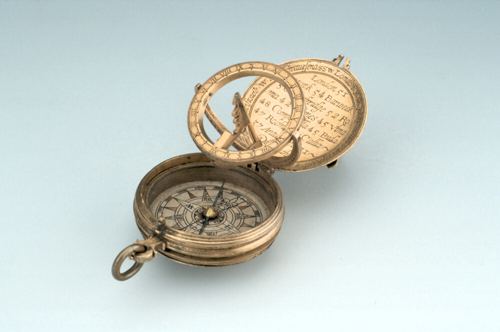 preview image for Equinoctial Dial, with Nocturnal and Lunar Volvelle, by 'TW', English, 1602