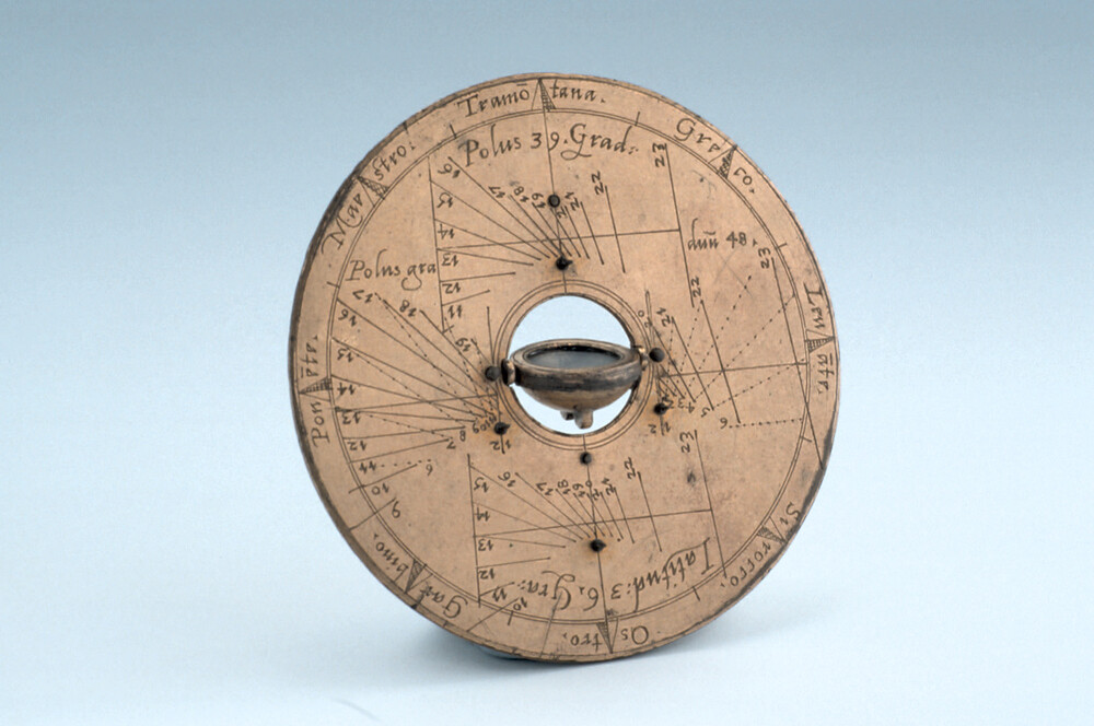 preview image for Horizontal Pin-Gnomon Dial, by Carlo Plato, Rome, 1588