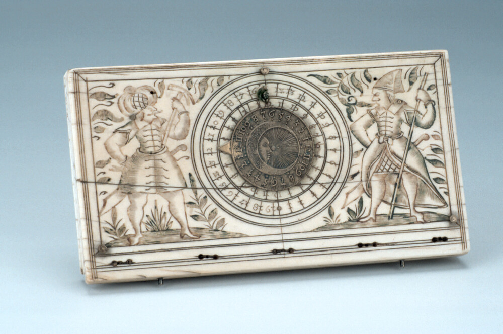 preview image for Diptych Dial, by a Tucher Workshop, Nuremberg, c. 1600