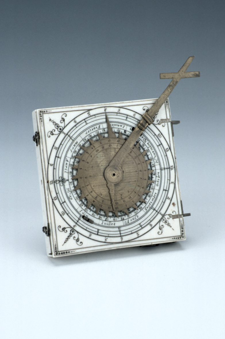 preview image for Diptych Dial, French, c. 1628
