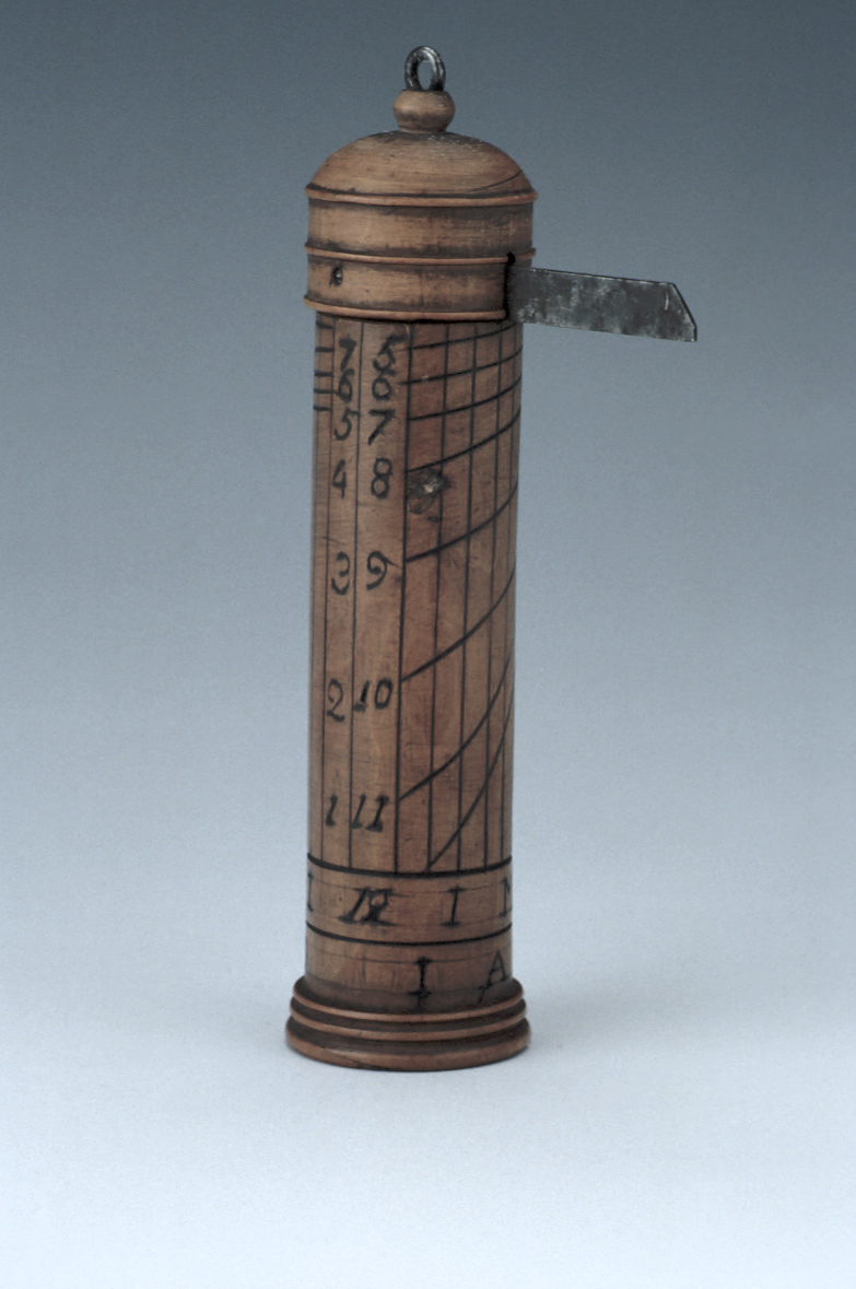 preview image for Wooden Cylinder Dial, English, Late 18th Century