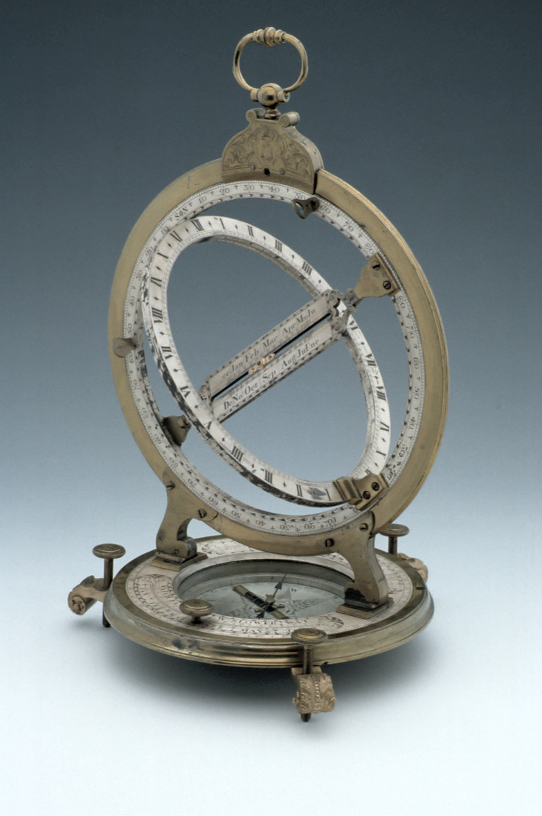 preview image for Equinoctial Ring Dial, by Thomas Heath, London, c. 1730