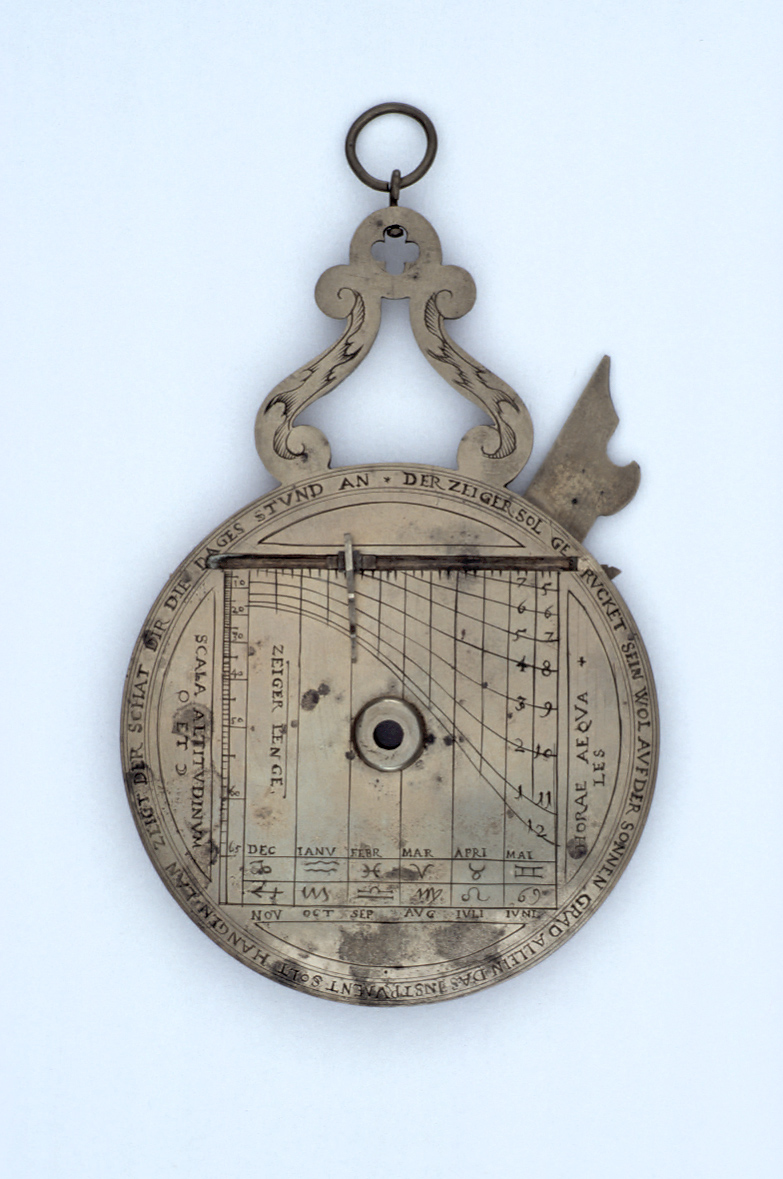 preview image for Nocturnal and Sundial, German, 1612