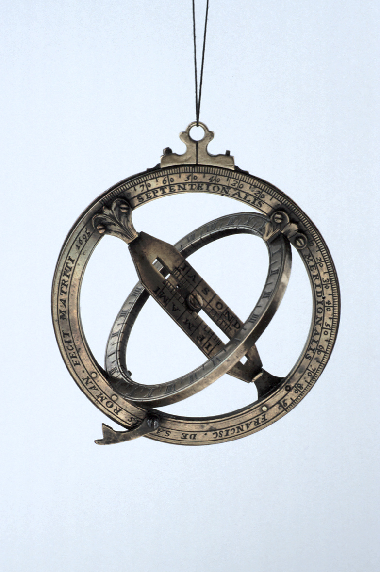 preview image for Equinoctial Ring Dial, with Quadrant, by Franciscus de Salvis, Madrid, 1695