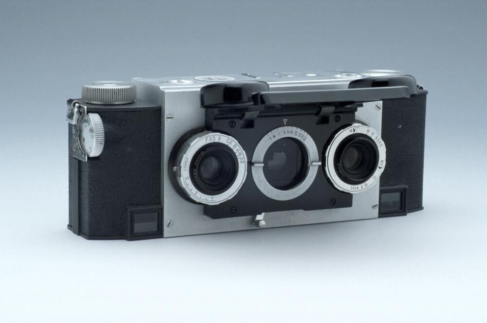 Stereoscopic Camera, by David White Co , Milwaukee, c  1950