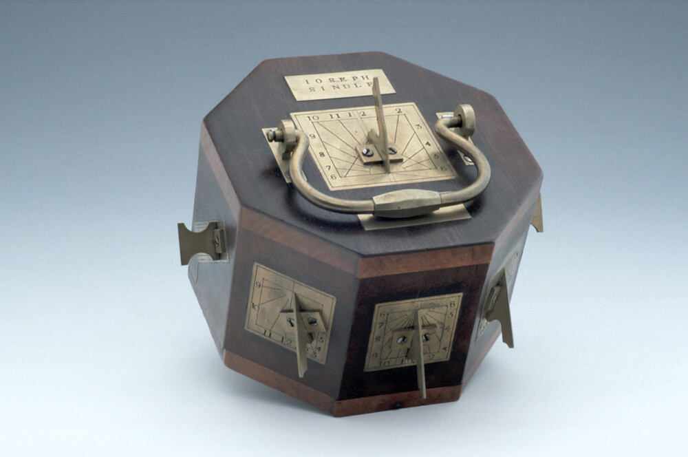 preview image for Polyhedral Dial, by Joseph Sindle, English, c. 1800?