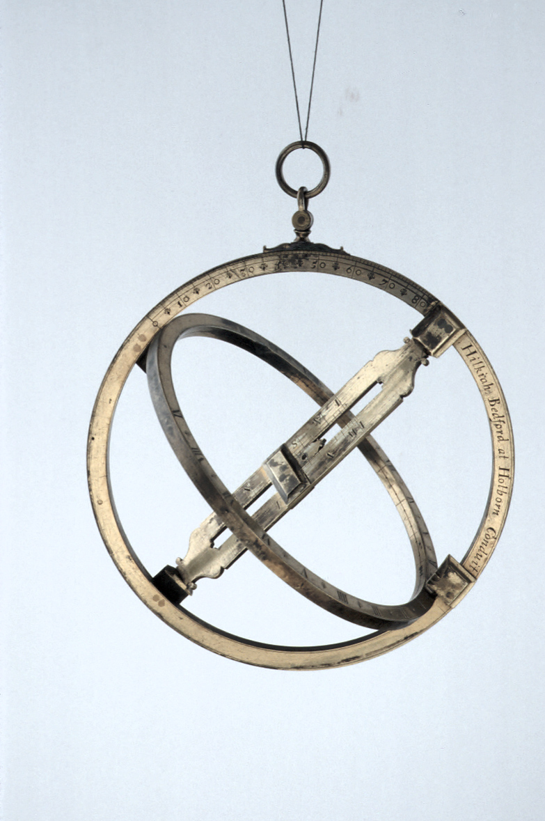 preview image for Equinoctial Ring Dial with Quadrant, by Hilkiah Bedford, London, Late 17th Century