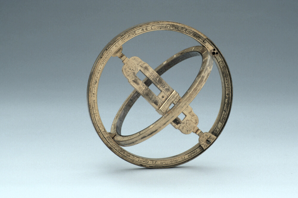preview image for Equinoctial Ring Dial, by J. H. Weyerman, Ronsdorf, 1747