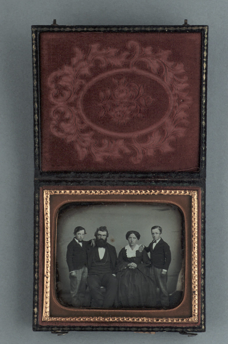 preview image for Photograph (Daguerreotype) of a Family Group, c.1850