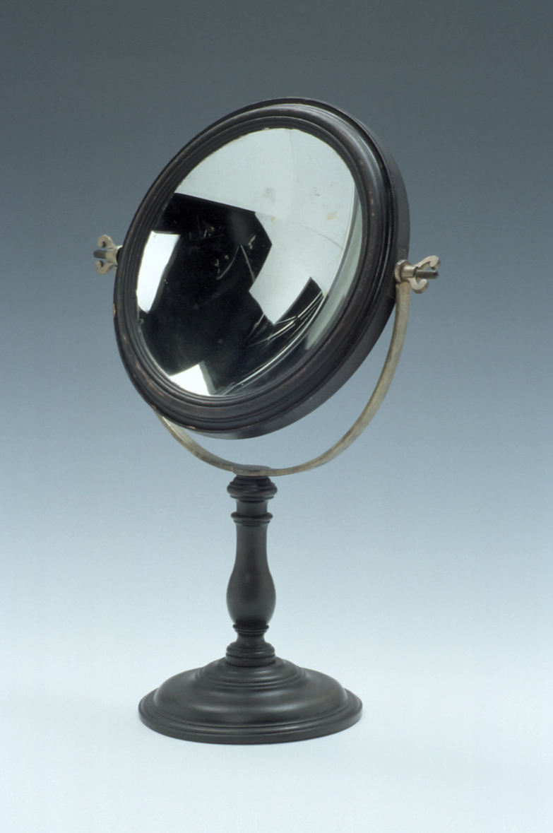 preview image for Pair of Convex and Concave Mirrors in Mount, English, c. 1700