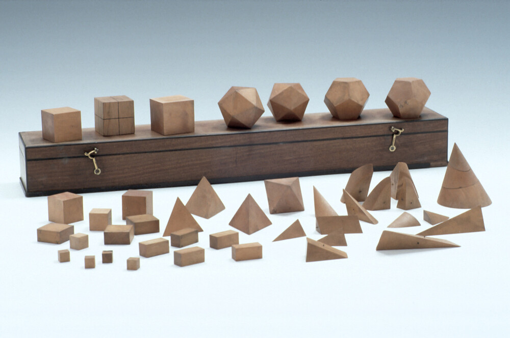 preview image for Set of Geometric Solids, English, c. 1700