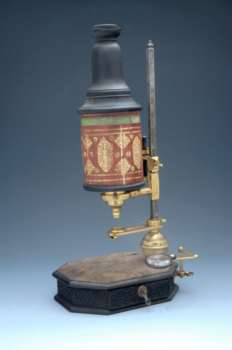 preview image for Compound Microscope, by John Marshall, London, c. 1715