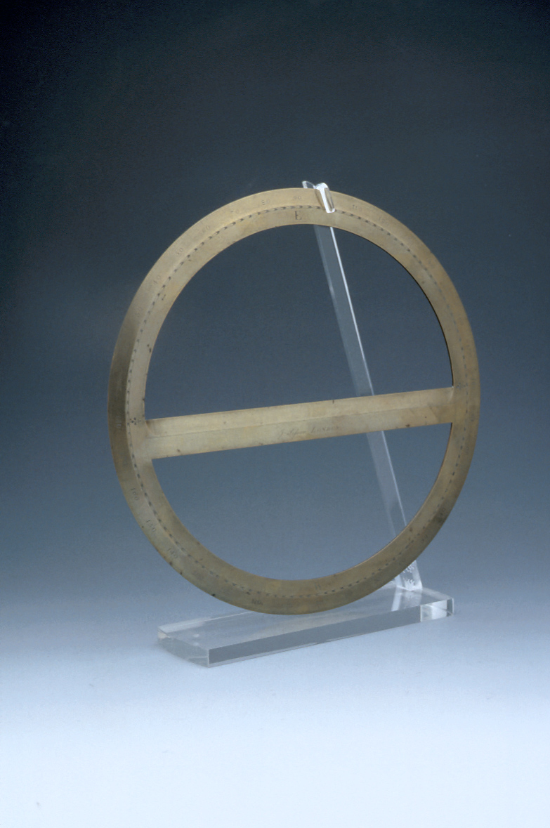preview image for Circular Protractor, by J. Sisson, London, c. 1730