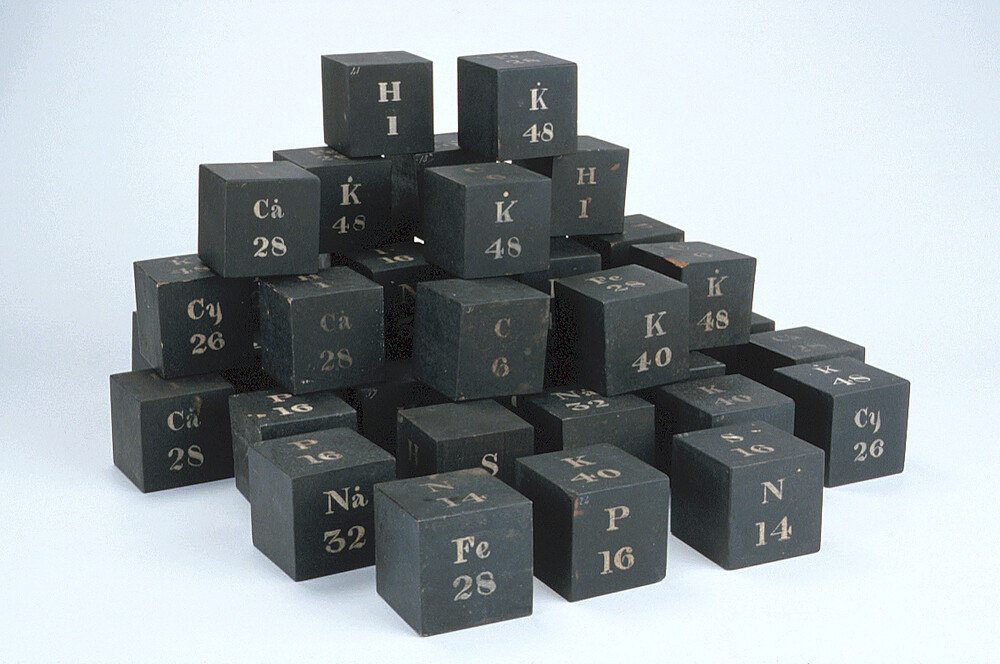 preview image for Daubeny's Chemical Models Illustrating Atomic Weights, London?, c. 1831