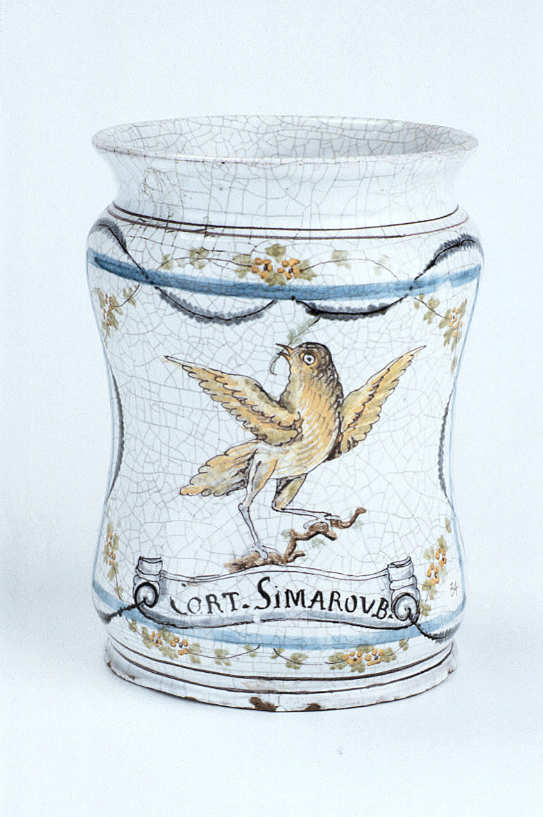 preview image for Albarello Jar, Castelli or Naples, c. 1770-1810