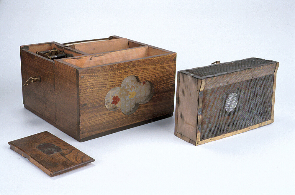 preview image for Mechanical Fly Trap, by Owari Watchmaking Co., Japan, c. 1910