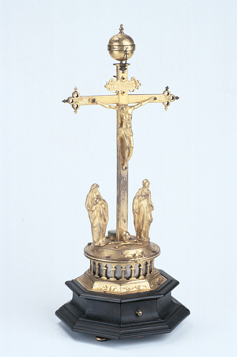 preview image for Crucifix Clock, by D. K. Enns, German, c. 1600?