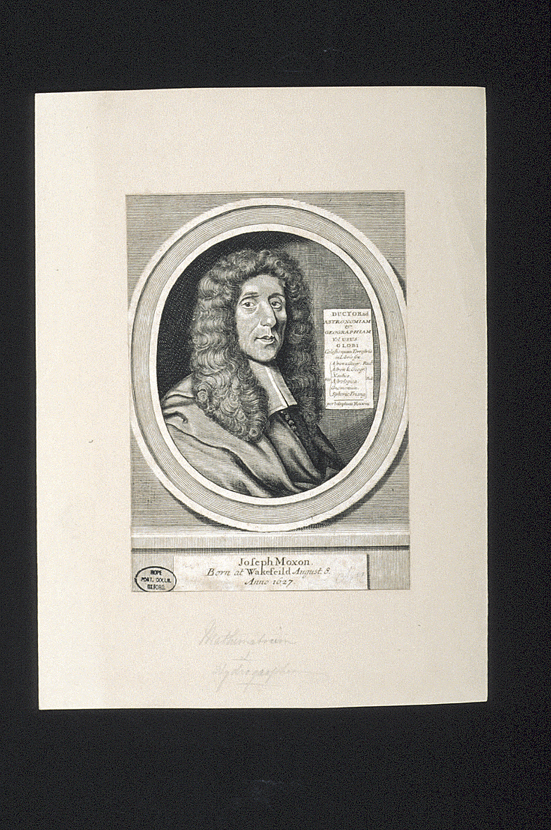 preview image for Print (Engraving) of Joseph Moxon, 1699