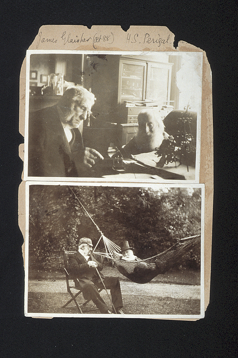 preview image for Two Photographs (Early Gelatine Prints) of James Glaisher and Henry Perigal, 1897