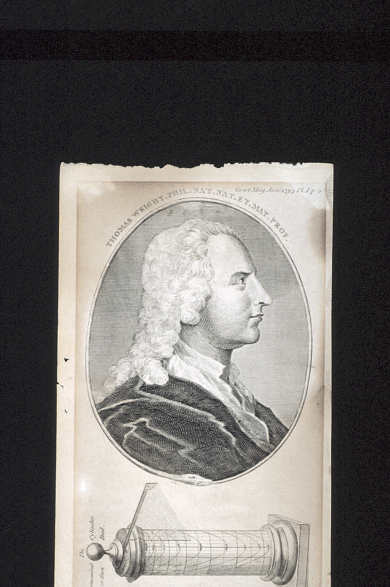 preview image for Print (Engraving) of Thomas Wright, Published in the Gentleman's Magazine, London, 1793