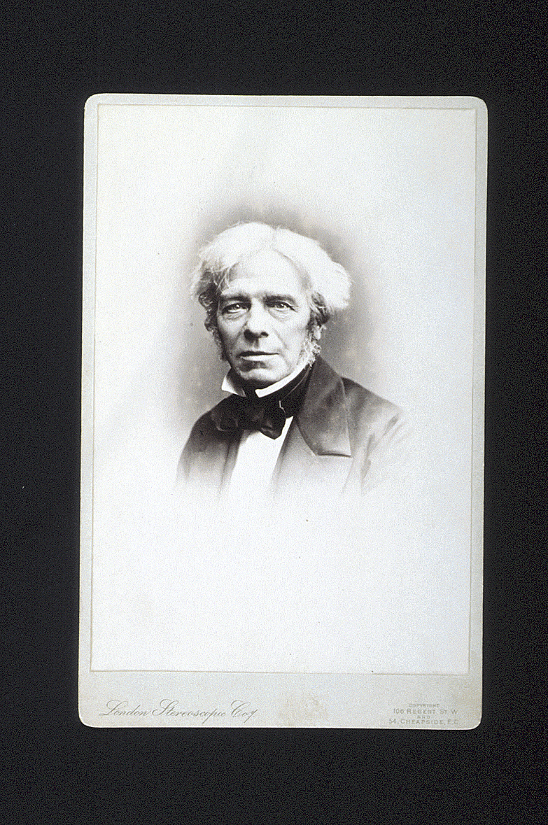 preview image for Photograph (Early Gelatine Print, Cabinet Format) of Michael Faraday, by London Stereoscopic Company, London, August 1902 (Originally Taken c.1860)