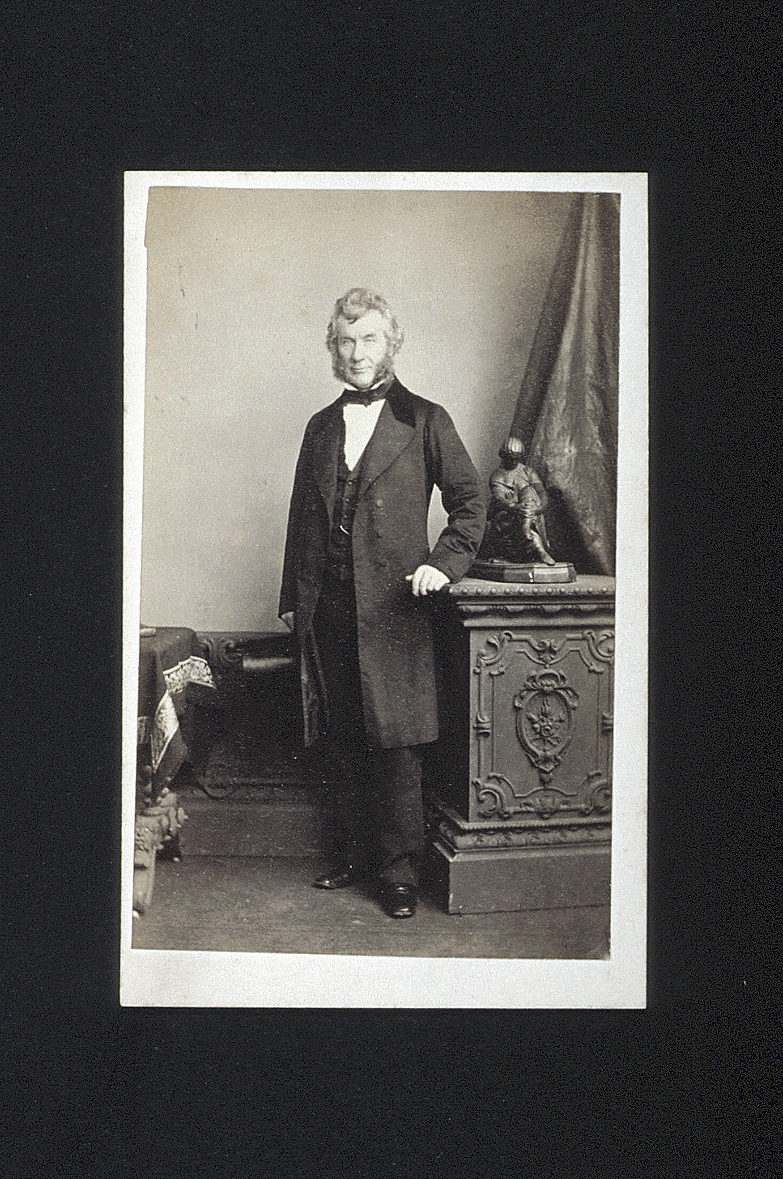 preview image for Photograph (Albumen Print, Carte de Visite) of William Harvey FRCS, by Bassano, London, c.1860