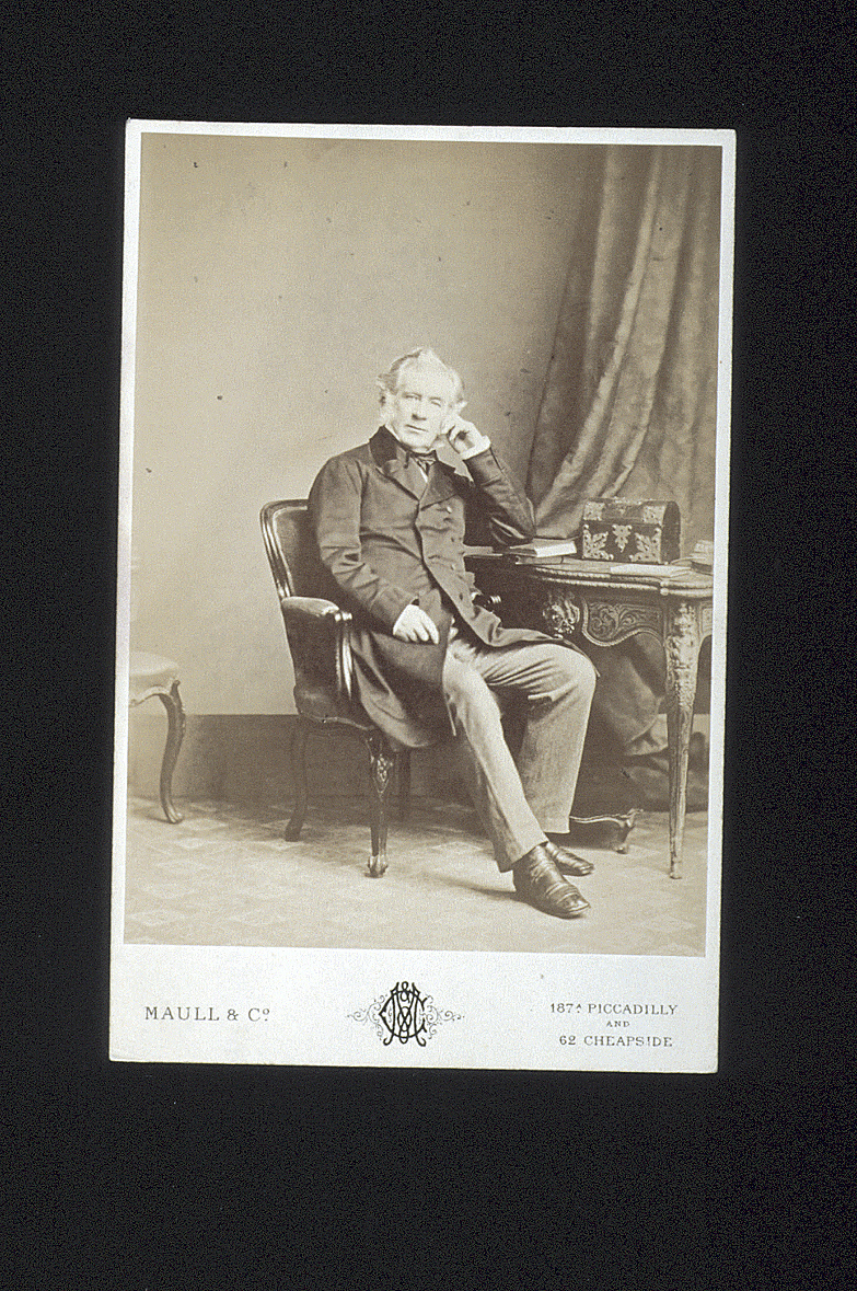 preview image for Photograph (Albumen Print, Cabinet Format) of William Harvey FRCS, by Maull & Co., London, c.1866
