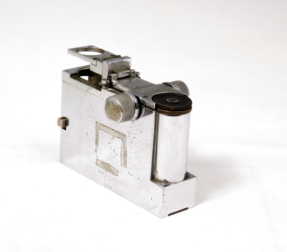 preview image for Portable Compound Microscope with Slide, by John N. McArthur, English, 1932