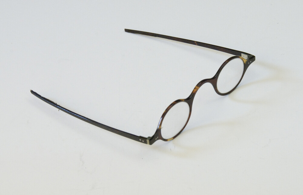 preview image for Tortoise-shell Spectacles, by Hudson and Son, Greenwich, 19th Century