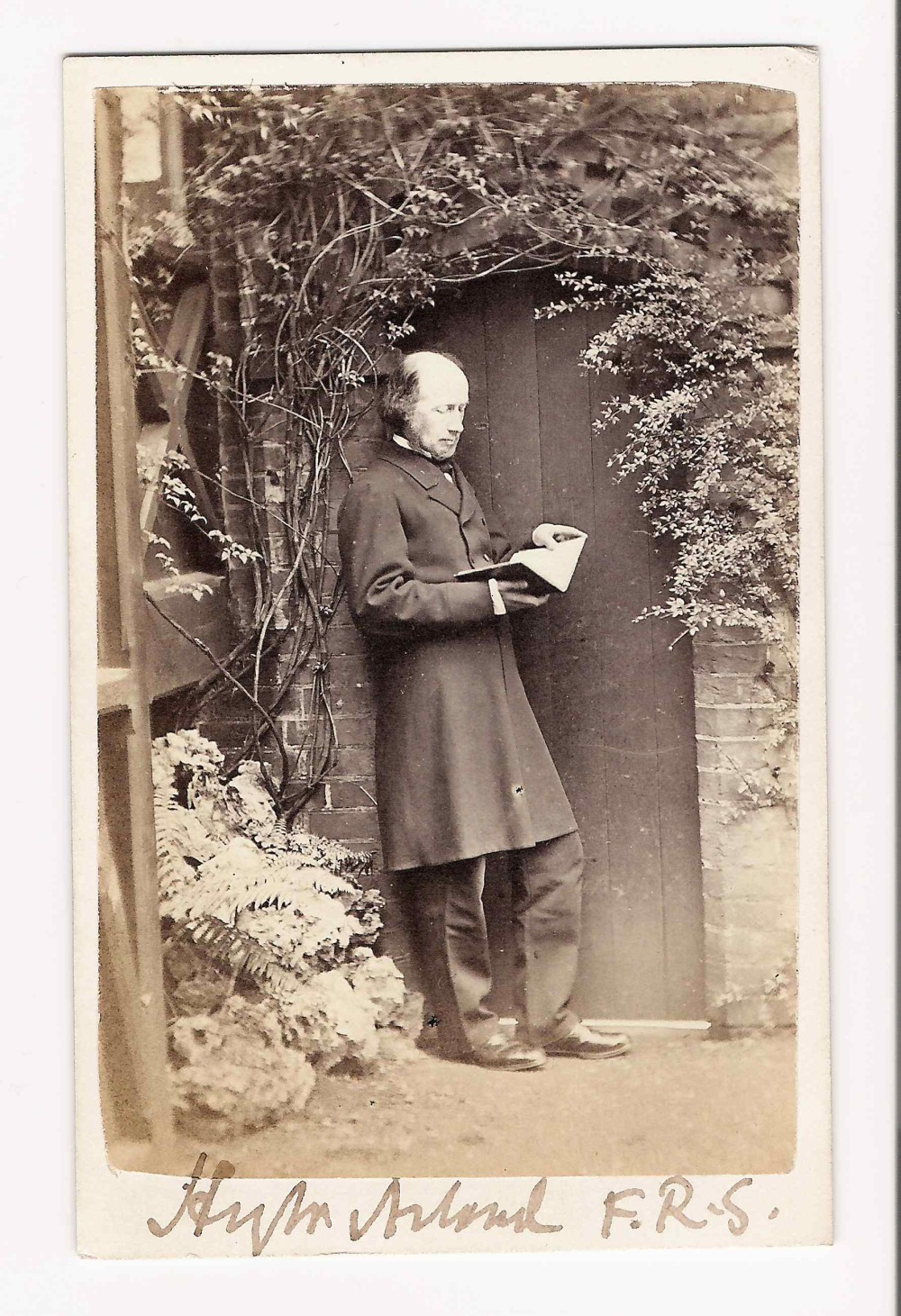 preview image for Photograph (Albumen Print, Carte de Visite) of Henry W. Acland, by J. Guggenheim, Oxford, 1866