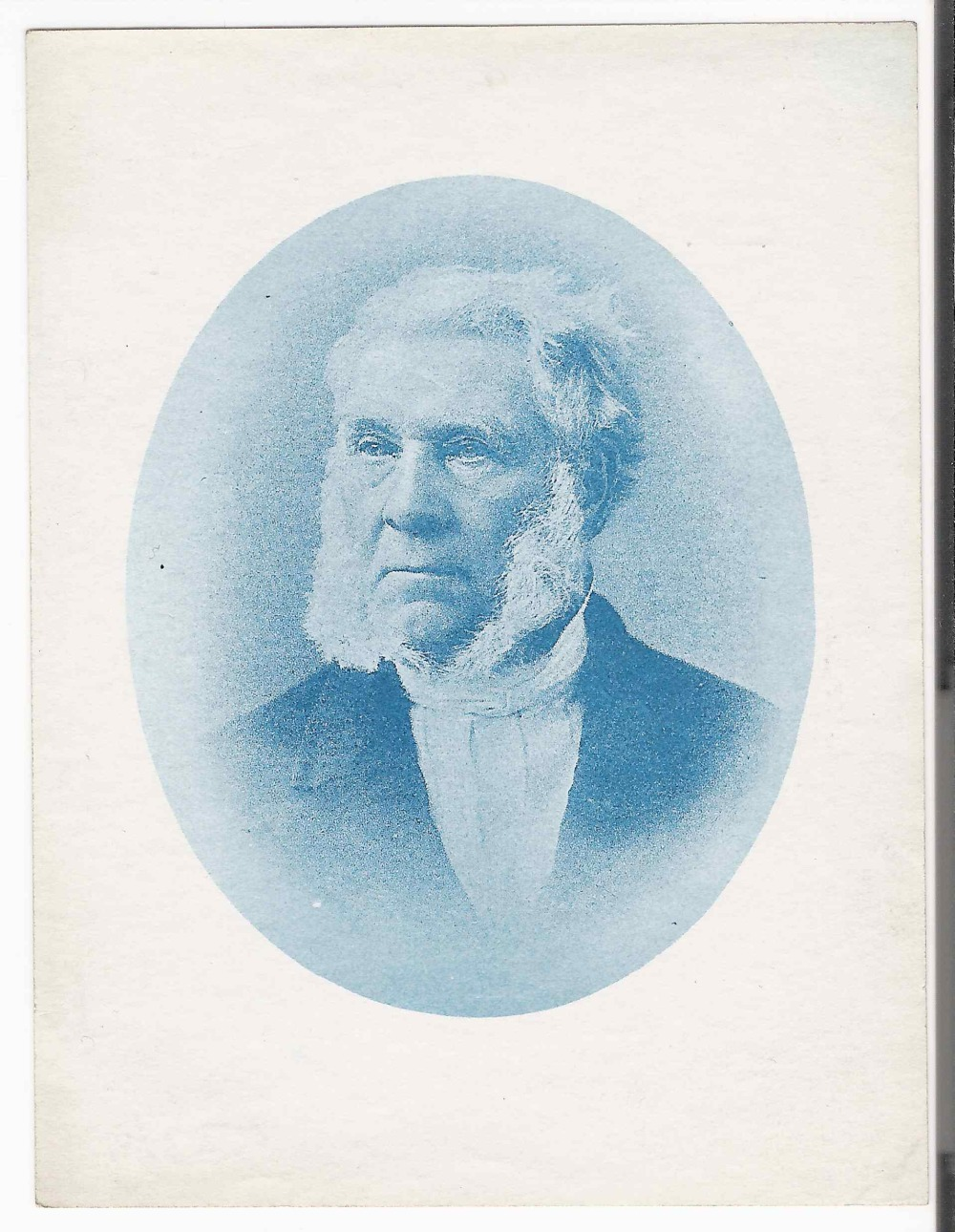 preview image for Photograph (Cyanotype) of a Portrait of James Glaisher, by Washington Teasdale, Probably 1880s