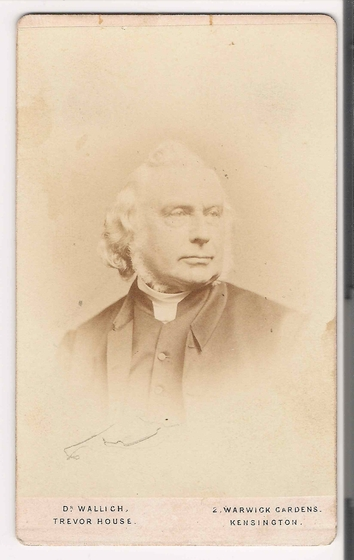 preview image for Photograph (Albumen Print, Carte de Visite) of J. B. Reade, by Dr Wallich, Kensington, London, c.1868