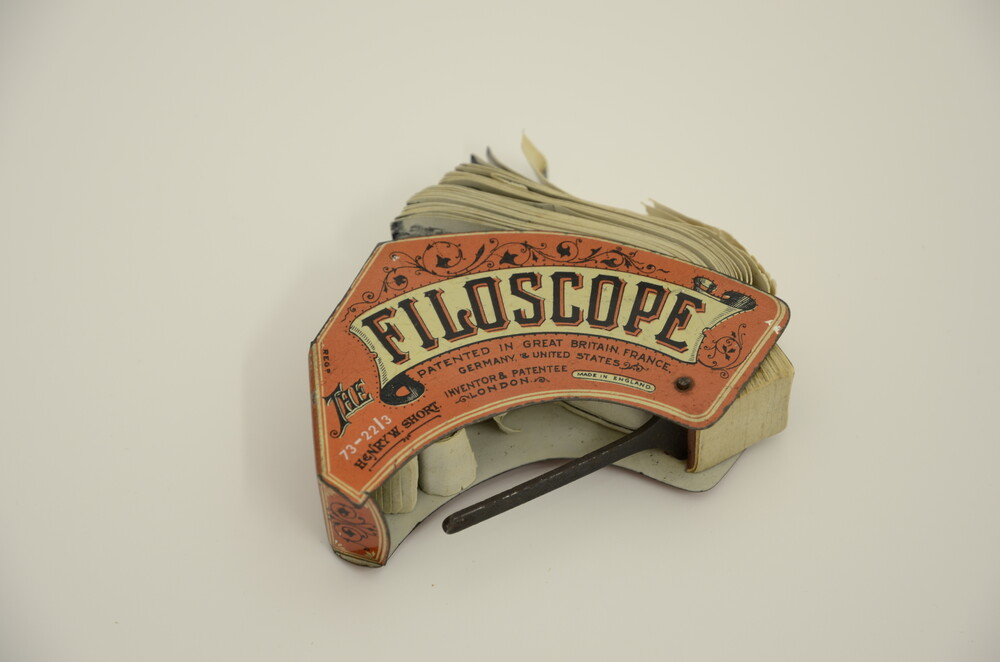 preview image for Filoscope Magazine Flip Book, by Henry W. Short, London, c.1900