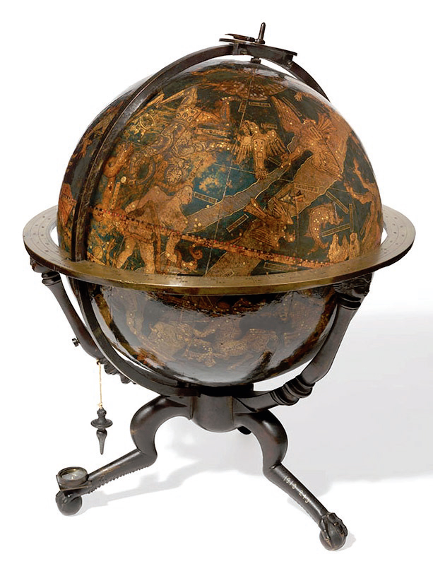 preview image for Celestial Table Globe, by Johannes Schöner, Nuremberg, Germany, 1535