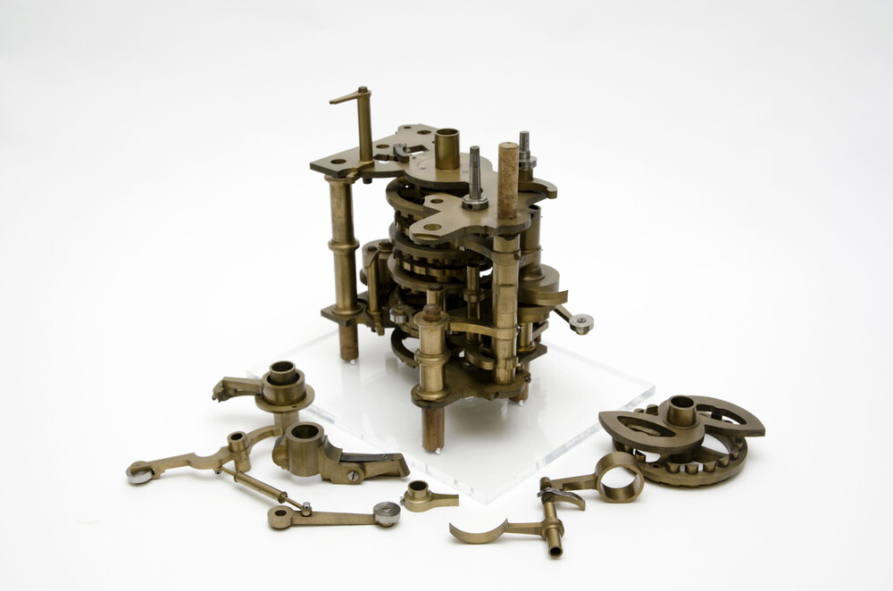 preview image for Parts of Difference Engine, by Charles Babbage, c. 1822-30