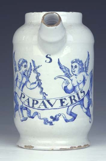 preview image for Syrup Jar, Delft, Late 18th Century