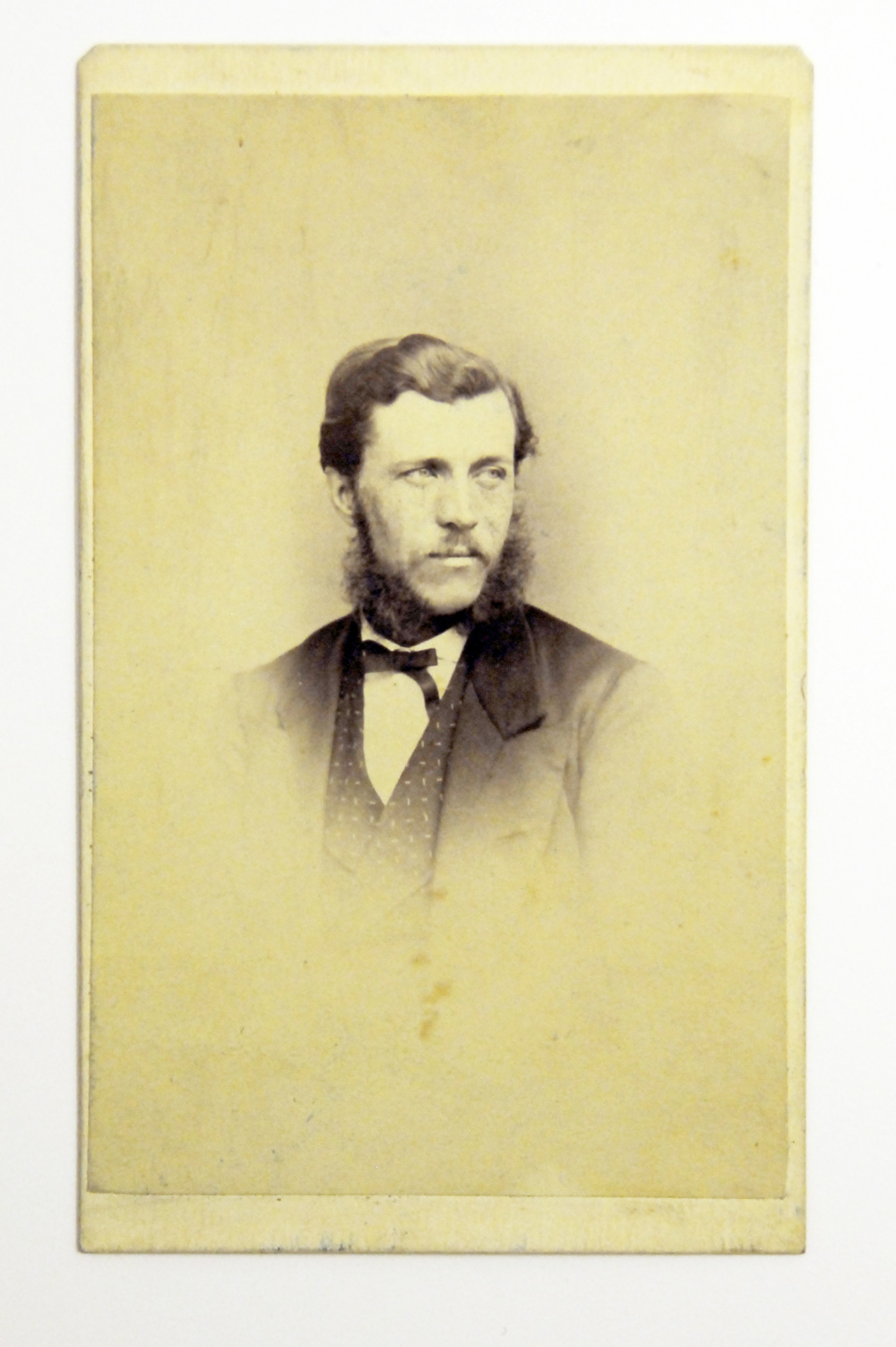 preview image for Photograph (Albumen Print, Carte de Visite) of Richard Inwards, by Carlos Fox, July 2, 1870