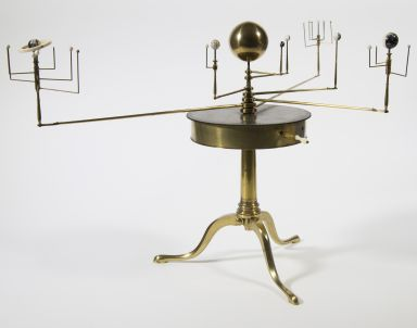 Table Orrery, Planetarium, Tellurian and Lunarium by W. & S. Jones. For session: Earth and Space