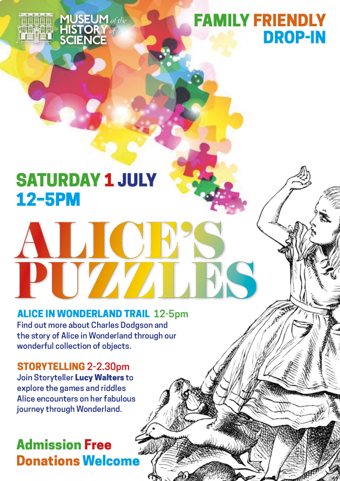 Alice's Puzzles Poster