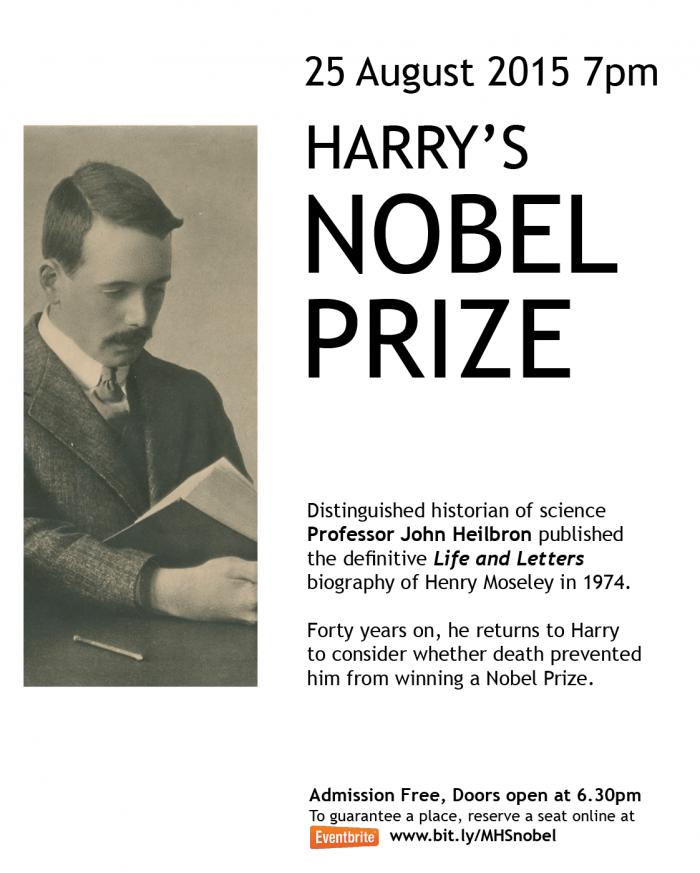 Harry's Nobel Prize