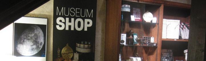 Museum shop banner