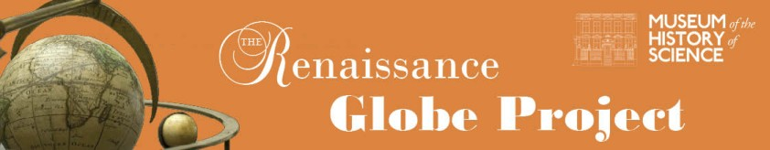 Letterhead Banner for the Renaissance Globe Project