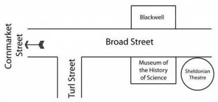 Broad Street Museum location map