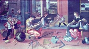 A painting called 'The Measurers'